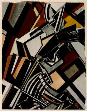 Composition 1913 Wyndham Lewis 1882-1957 Purchased 1949 http://www.tate.org.uk/art/work/N05886