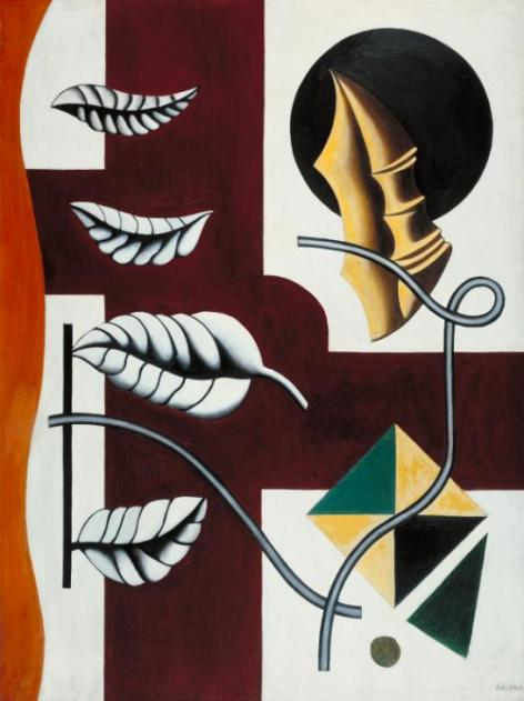 Leaves and Shell 1927 Fernand L?ger 1881-1955 Purchased 1949 http://www.tate.org.uk/art/work/N05907
