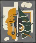 Keys (Composition) 1928 Fernand L?ger 1881-1955 Presented by Mrs Fanny Wadsworth 1951 http://www.tate.org.uk/art/work/N05990