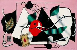 Playing Card and Pipe 1928 Fernand L?ger 1881-1955 Presented by Mrs Fanny Wadsworth 1951 http://www.tate.org.uk/art/work/N05991