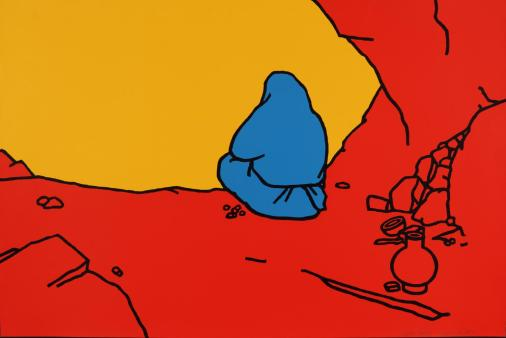 The Hermit 1967 Patrick Caulfield 1936-2005 Presented by Rose and Chris Prater through the Institute of Contemporary Prints 1975 http://www.tate.org.uk/art/work/P04079
