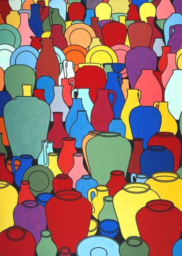 Pottery 1969 Patrick Caulfield 1936-2005 Presented by Mrs H.K. Morton through the Contemporary Art Society 1969 http://www.tate.org.uk/art/work/T01134
