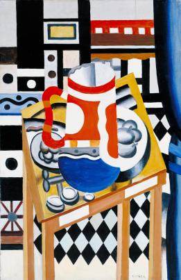Still Life with a Beer Mug 1921-2 Fernand L?ger 1881-1955 Purchased with assistance from the Friends of the Tate Gallery 1976 http://www.tate.org.uk/art/work/T02035